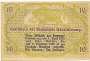10 Heller (Eberschwang) – reverse