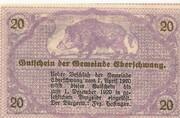 20 Heller (Eberschwang) – reverse