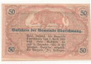50 Heller (Eberschwang) -  reverse