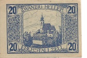 20 Heller (Eberstallzell) – obverse