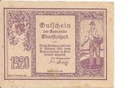 50 Heller (Eberstallzell) – reverse