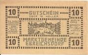 10 Heller (Ebreichsdorf) -  obverse