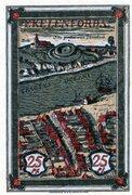 25 Pfennig (Ykernborg) – reverse