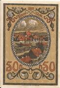 50 Pfennig (Ykernborg) – reverse