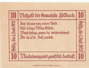 10 Heller (Edlbach) – reverse
