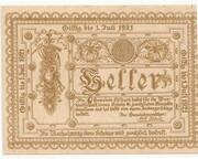 20 Heller (Edlbach) – obverse