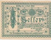 50 Heller (Edlbach) -  obverse