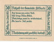 50 Heller (Edlbach) -  reverse