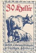 30 Heller (Eferding) – obverse