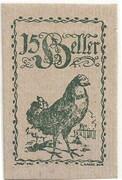 15 Heller (Eferding) -  obverse