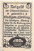 15 Heller (Eferding) -  reverse