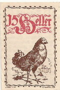 15 Heller (Eferding) – obverse