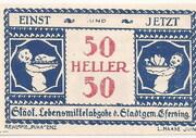50 Heller (Eferding) -  obverse