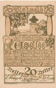 20 Heller (Egelsee) – obverse