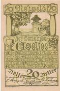 20 Heller (Egelsee) -  obverse