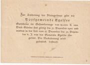 50 Heller (Egelsee) – reverse