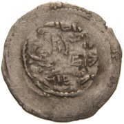 1 Dünnpfennig - Friedrich II. – reverse
