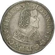 1 Thaler - Johann Anton (Krummau) – obverse