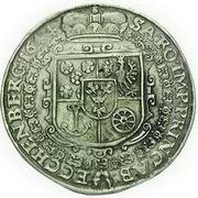 1 Thaler - Johann Anton (Krummau) – reverse