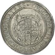 1 Thaler - Johann Christian a Johann Seyfried (Krummau) – reverse