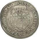 1 Thaler - Johann Christian & Johann Seyfried (Krummau) – reverse