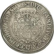 1 Thaler - Johann Christian & Johann Seyfried (Krummau) -  obverse