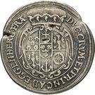 ¼ Thaler - Johann Christian & Johann Seyfried (Krummau) – reverse