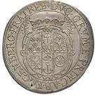 ½ Thaler - Johann Christian a Johann Seyfried (Krummau) – reverse