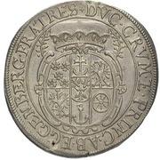 ½ Thaler - Johann Christian & Johann Seyfried (Krummau) – reverse