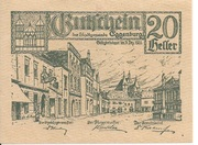 20 Heller (Eggenburg) -  obverse