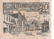20 Heller (Eggenburg) – obverse