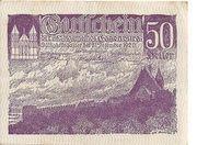 50 Heller (Eggenburg) -  obverse