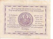 50 Heller (Eggenburg) – reverse