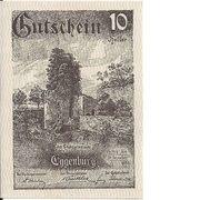 10 Heller (Eggenburg) – obverse