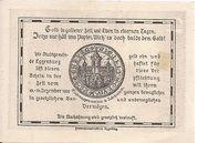 10 Heller (Eggenburg) – reverse