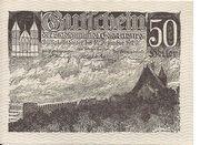 50 Heller (Eggenburg) – obverse