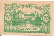 20 Heller (Eggendorf) -  obverse