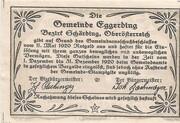 30 Heller (Eggerding) -  reverse