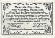 30 Heller (Eggerding) – reverse