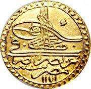 Zeri Mahbub - Mustafa III – obverse
