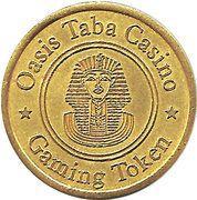 Gaming Token - Oasis Taba Casino – obverse