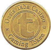 Gaming Token - Oasis Taba Casino – reverse