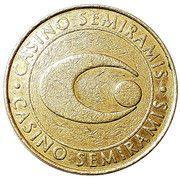 1 Dollar - Casino Semiramis – reverse