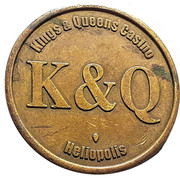 Token - Kings & Queens Casino (Heliopolis) – obverse