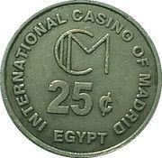 25 Cents - International Casino of Madrid – obverse