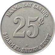 25 Cents - Naama Bay Casino (Sharm El Sheikh ) – reverse