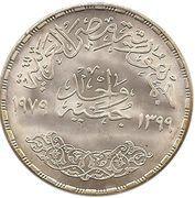 1 Pound (Abbasia Mint) – reverse