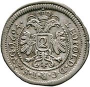 2 Kreuzer - Johann Eucharius Schenk von Castell – obverse