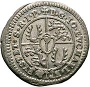 2 Kreuzer - Johann Eucharius Schenk von Castell – reverse