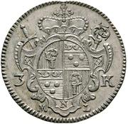 3 Kreuzer - Johann Anton II. von Freyberg – obverse